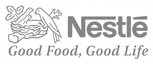 Logo Nestlé, good food, good life