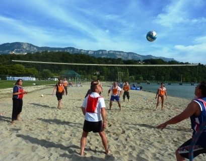 Organisation de tournoi de beach volley