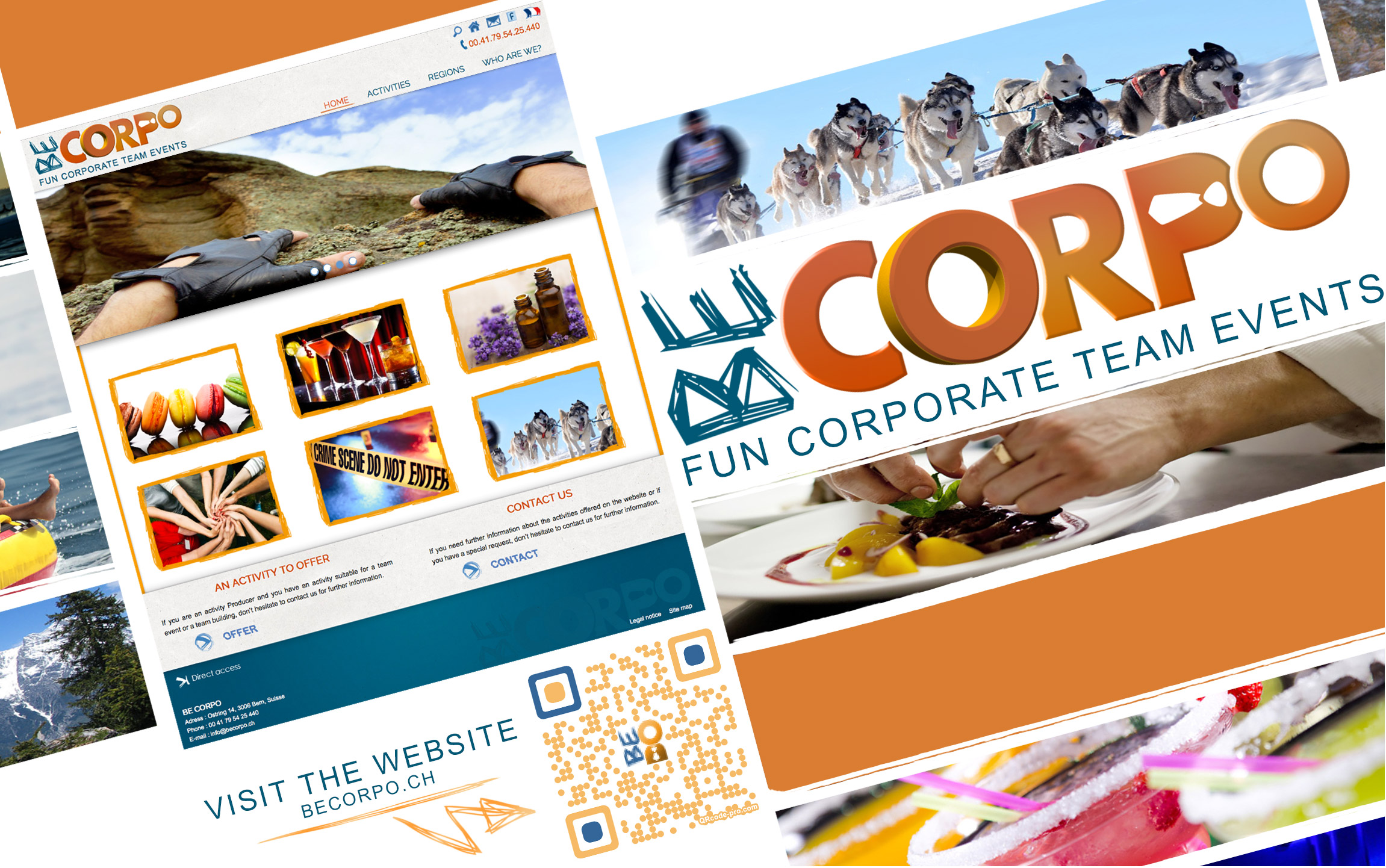 Becorpo fun and corporate team events